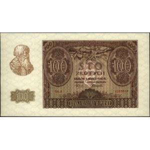 100 złotych 1.03.1940, seria A, Miłczak 97a, piękne