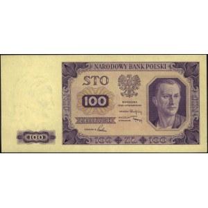 100 złotych 1.07.1948, bez oznaczenia serii i numeracji...