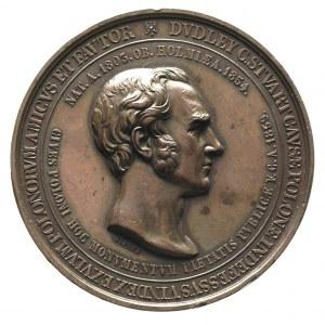 Dudley Stuart - medal autorstwa A. Bovy'ego, wybity w 1...