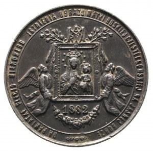 medal 500-lecie Obrazu Matki Boskiej, Aw: Dwaj aniołowi...