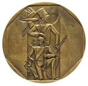 medal - Setna Rocznica Powstania Listopadowego 1930 r.,...