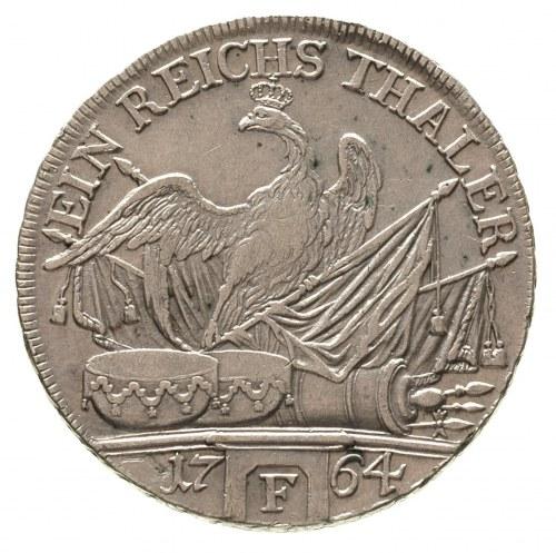 Fryderyk II Wielki 1740-1786, talar 1764/F, Magdeburg, ...