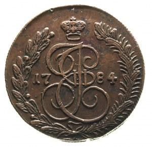5 kopiejek 1784 / K-M, Suzun, Diakov 494