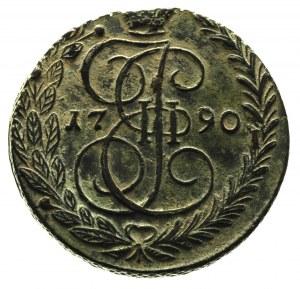 5 kopiejek 1790 / E-M, Ekaterinburg, Diakov 656, jasnoz...