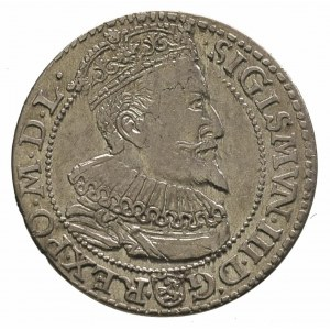 szóstak 1596, Malbork, odmiana napisu SEv w SEX