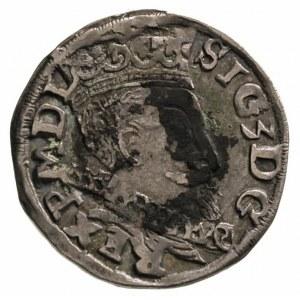 trojak 1598, Lublin, na rewersie monogram MR, Iger L.98...
