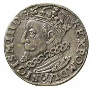 trojak 1601, Kraków, odmiana z popiersiem króla w lewo,...