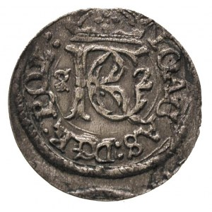szeląg 1652, Wilno, wariant ze skróconą datą 5 - 2 po b...