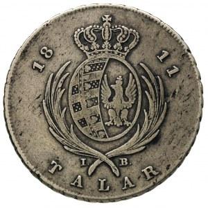 talar 1811, Warszawa, 22.50 g, Plage 114, Dav. 247, dro...