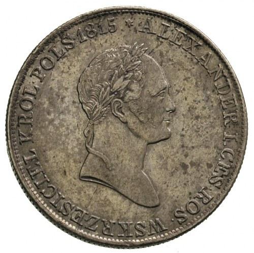 5 złotych 1832, Warszawa, Plage 41, Bitkin 989, ładnie ...