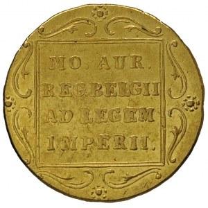 dukat 1831, Warszawa, rzadka odmiana z kropką za pochod...