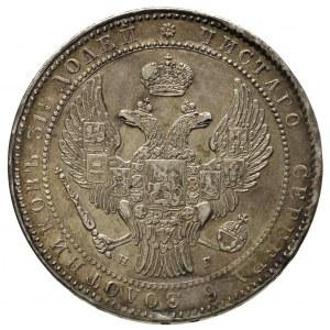 1 1/2 rubla = 10 złotych 1836, Petersburg, Plage 327, B...