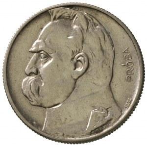 5 złotych 1934, Józef Piłsudski-Orzeł Strzelecki, na re...