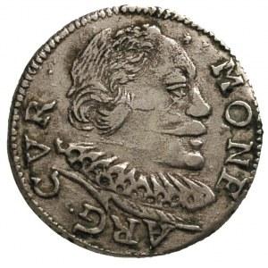 Wilhelm Kettler 1596-1626, trojak 1598, Mitawa, Iger Ku...