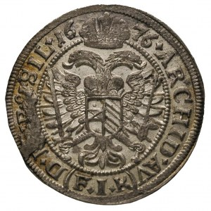 VI krajcarów 1676, Opole, F.u.S. 652, wybity nieco uszk...