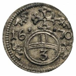 greszel 1670, Opole, F.u.S. 640, piękny egzemplarz, pat...