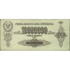 10.000.000 marek polskich 20.11.1923, seria U, Miłczak ...