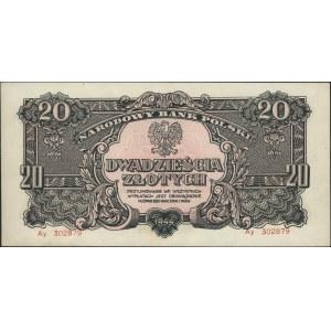 20 złotych 1944, \obowiązkowe, seria Ay