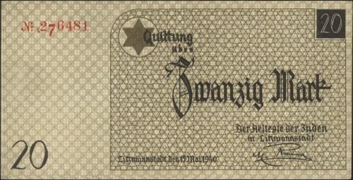 20 marek 15.05.1940, Miłczak Ł6 (uznaje jako fałszerstw...