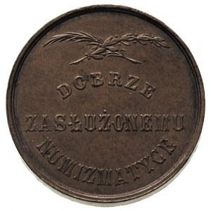 Emeryk hr. Hutten-Czapski, medal \Dobrze zasłużonemu w ...