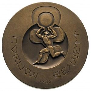 Zawody Gordon-Bennetta w Warszawie - medal projektu St....