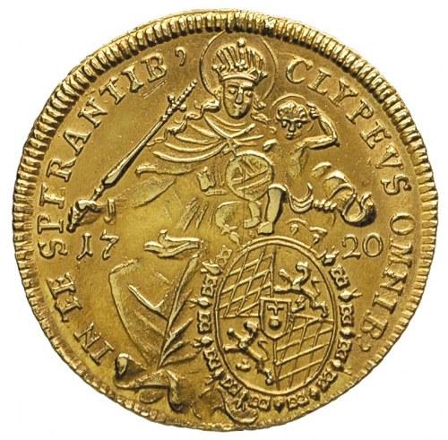 Maksymilian II Emanuel 1679-1726, maksymilian d'or 1720...