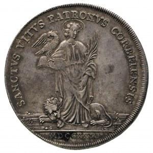 Karol von Blittersdorf 1722-1737, talar 1723, 29.13 g, ...