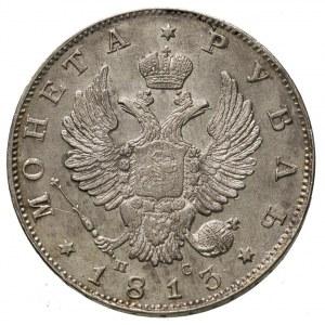 rubel 1813 ПС, Petersburg, Bitkin 105, ładnie zachowany