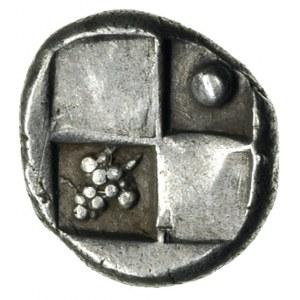 Tracja, Chersones, hemidrachma ok. 386-338 pne, Aw: Fra...