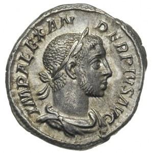 Aleksander Sewer 222-235, denar 232, Aw: Popiersie cesa...