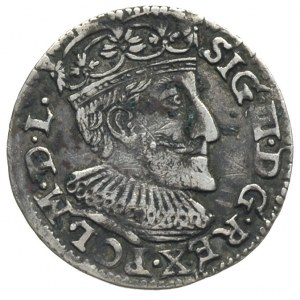 trojak 1592, Olkusz, odmiana z pełną datą i literami I ...