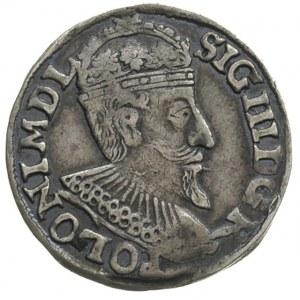 trojak 1595, Olkusz, Iger O.95.4.d, patyna