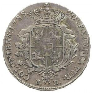 półtalar 1788, Warszawa, Plage 371, lekko justowany, pa...