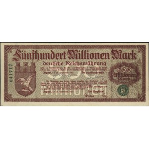 Sopot, 500.000.000 marek 28.09.1923, numeracja 6-cio cy...