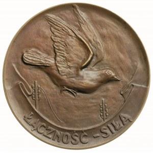 medal nagrodowy Za Hodowlę Gołębi Pocztowych,  Aw: Orze...