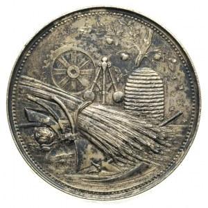 medal Estońskiego Towarzystwa Rolniczego z Wystawy Roln...