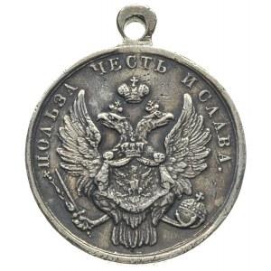 medal za zdobycie Warszawy w 1831 roku, srebro 9.29 g, ...