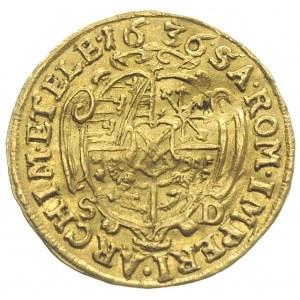 Jan Jerzy I 1615-1656, dukat 1636, złoto 3.44 g, Fr. 26...