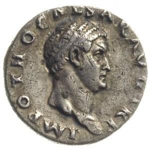 Otto 69, denar, Rzym, Aw: Popiersie cesarza w prawo, na...