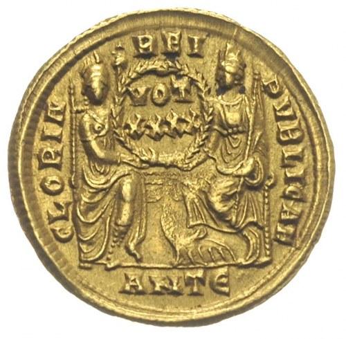Konstancjusz II 337-361, solidus 355-361, Antiochia, Aw...