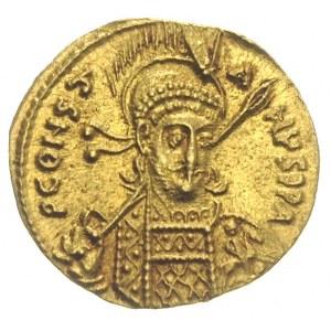 Konstantyn IV Pogonatus 668-685, solidus 681-685, Konst...