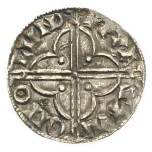 Knut 1016-1035, denar typu quatrefoil ok. 1017-1023, Lo...