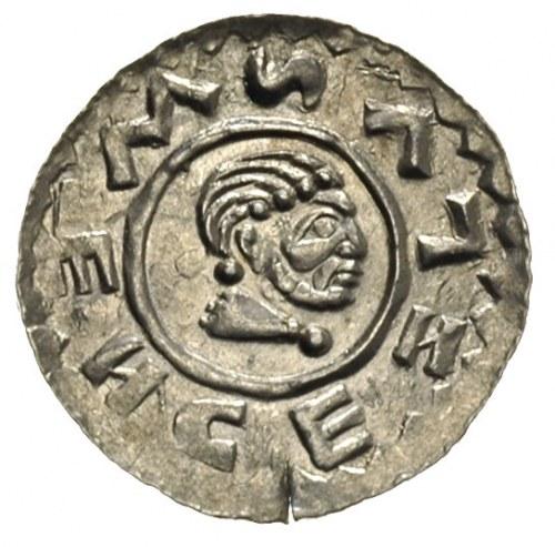 Wratysław II 1086-1092, denar, Aw: Głowa króla w prawo,...