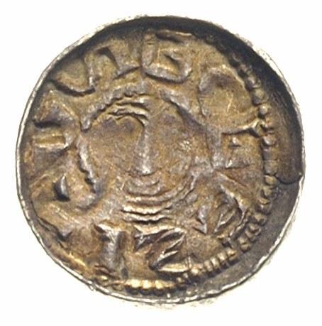 Bolesław Śmiały 1058-1080, denar książęcy, Aw: Głowa w ...