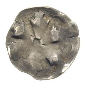 Pyrzyce- miasto /Pyritz/, denar przed 1450, Aw: Sześcio...