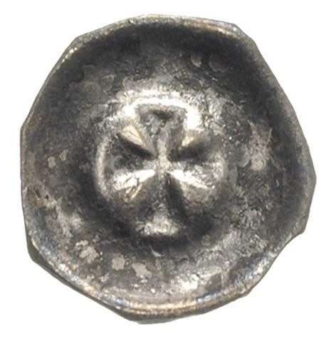 brakteat ok. 1416-1460, Krzyż grecki, 0.38 g, BRP Prusy...