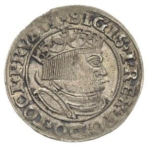 grosz 1532, Toruń, nierównomierna patyna