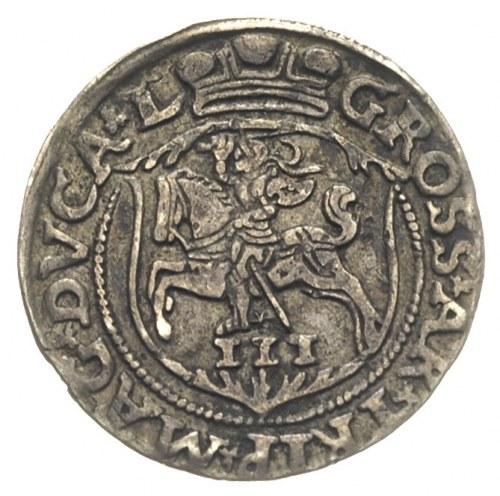 trojak 1563, Wilno, Iger V.63.1.n (R), Ivanauskas 9SA35...