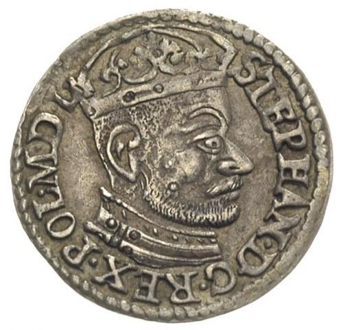 trojak 1582, Olkusz, Iger O.82.5.p (R1), bardzo ładny