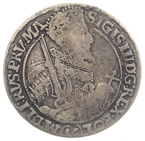 ort 1621, Bydgoszcz, odmiana z nominałem 16  pod popier...